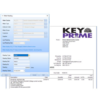 Metering module for KEYPrime Accounts