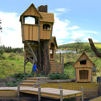 Playground from Monkey Business Design - where the wild things grow!